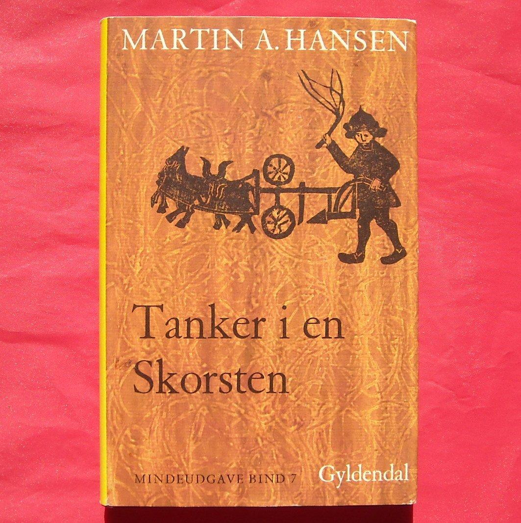 TANKER I EN SKORSTEN Gyldendal Martin A Hansen Mindeudgave In DANISH