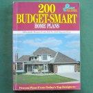 200 Budget Smart Home Plans Blue Ribbon ISBN 0918894972