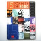15 Top Hits Of 2000 Tenor Sax Sheet Music Hal Leonard