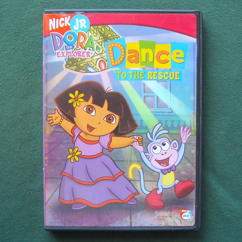 Nick Jr. Dora the Explorer Dance to the Rescue DVD