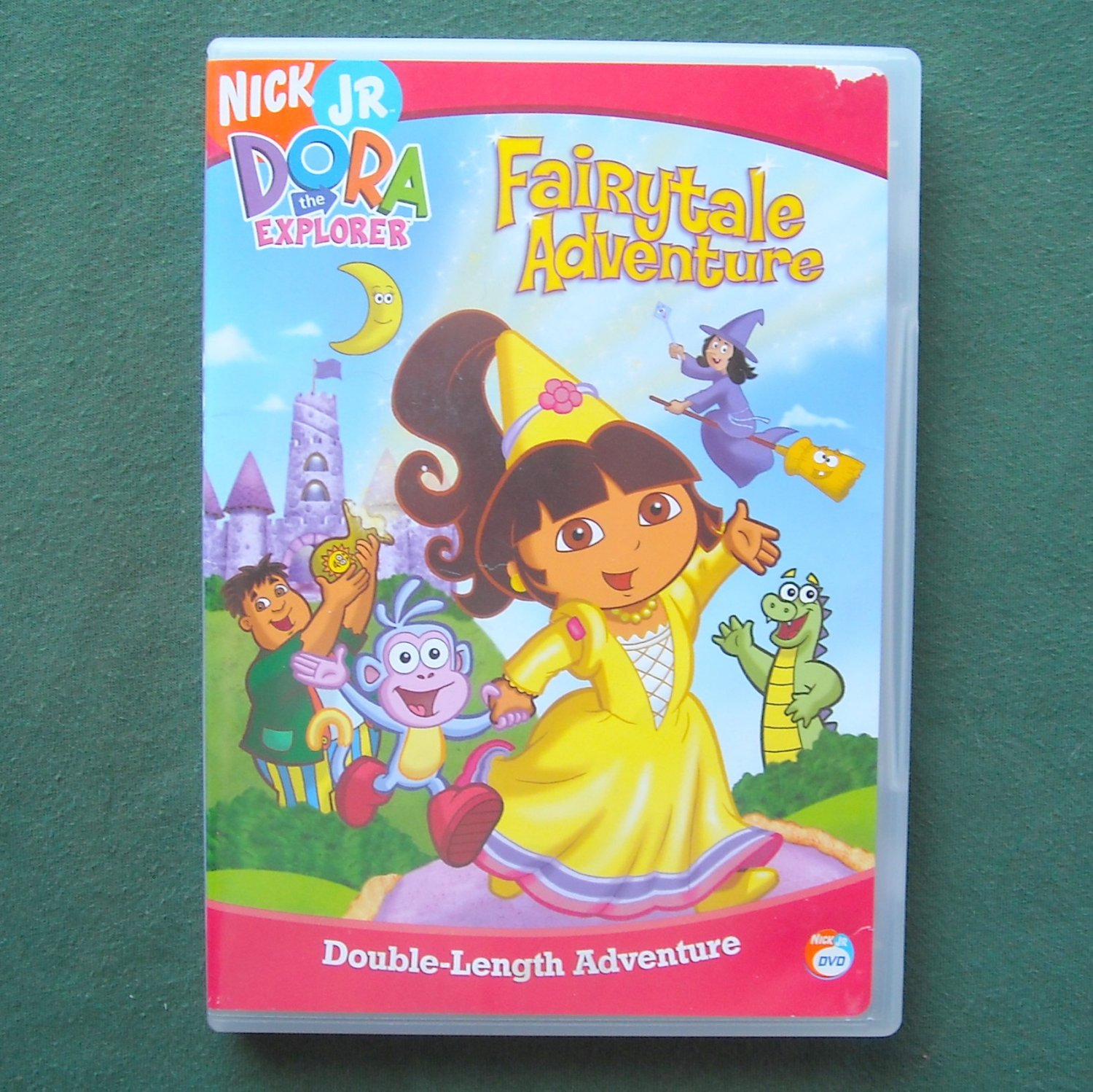 Nick Jr  Dora the Explorer Fairytale Adventure DVD