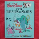 Walt Disney Fun to learn From Whales to Snails Volume 8