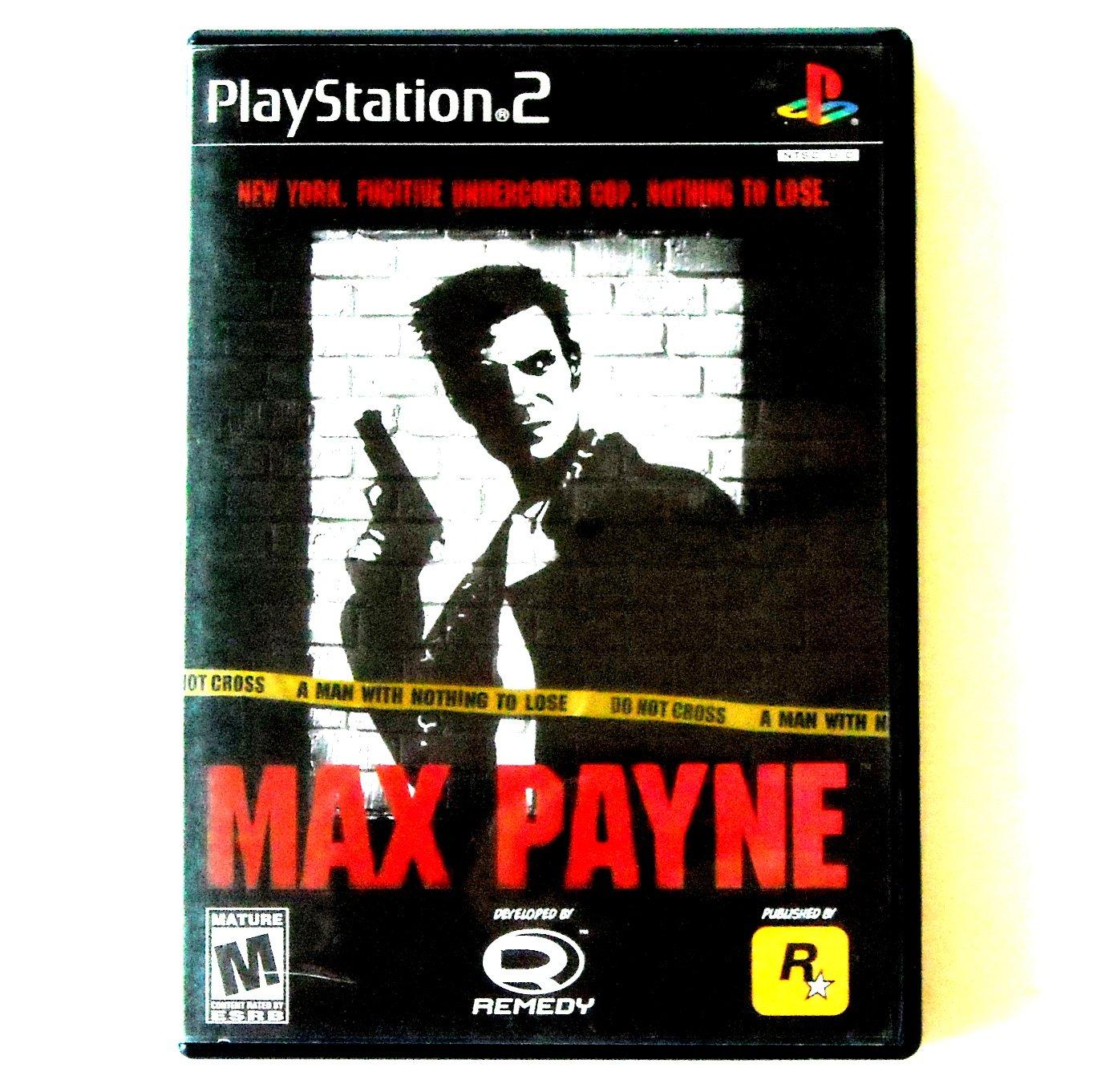 Max Payne PlayStation 2 PS2 game