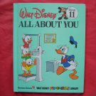 Walt Disney Fun to learn All About You Volume 11