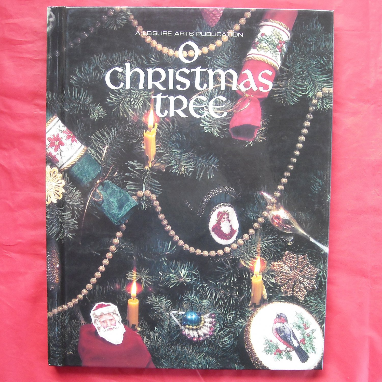 Leisure Arts O Christmas Tree hardcover