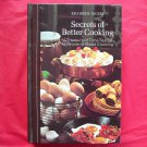 Secrets of better cooking hardcover