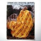 Americana Afghans Bernat Patterns Booklet 1974