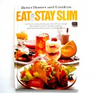 Eat & Stay Slim Better Homes And Gardens Book