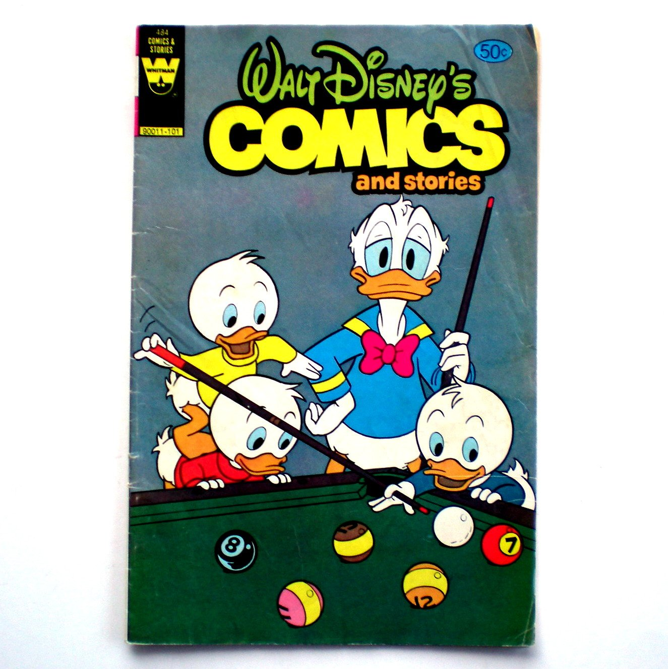 Walt Disney's Comics And Stories No 484 Whitman Comics 1980