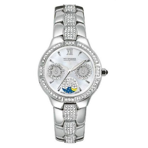 Wittnauer Bulova 10N000 Crystal Women's Watch