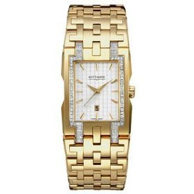 Wittnauer Bulova 12E029 Beckett Diamond Men's Watch