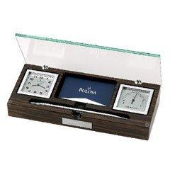 Bulova Paragon Executive Collection Desk Clock B2572