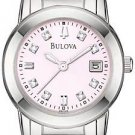 Bulova 96P106 Diamond Pink Dial Women's Watch