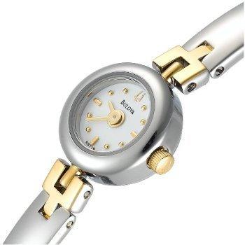 Bulova 98T19 Petite Two Tone Bracelet Women's Watch