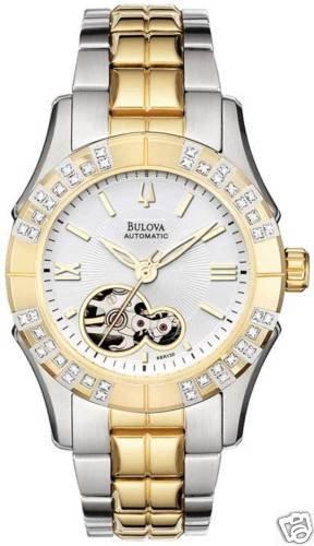 Bulova 98R130 Diamond Self Winding Women's Watch