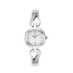 Bulova 96L124 Bangle White Dial Women's Watch