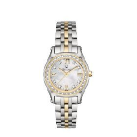 Bulova 98R128 Diamond Accented Bracelet Women's Watch