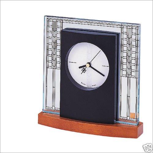 Bulova Glasner Frank Lloyd Wright House Clock B7750