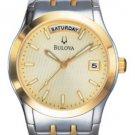 Bulova 98C60 Two Tone Bracelet Men's Watch