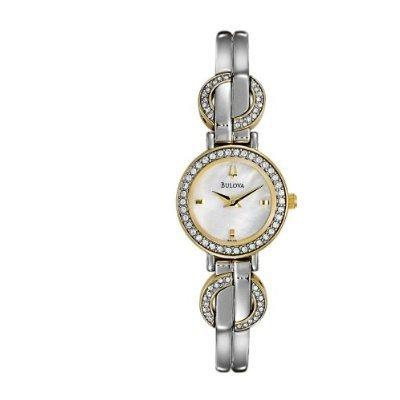 Bulova 98L114 Mother of Pearl Dial Women's Watch
