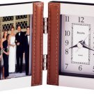 Bulova Turin Picture Frame Collection Table Clock B1287