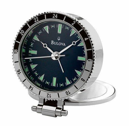 Bulova Astronaut Travel Alarm Clock B2808