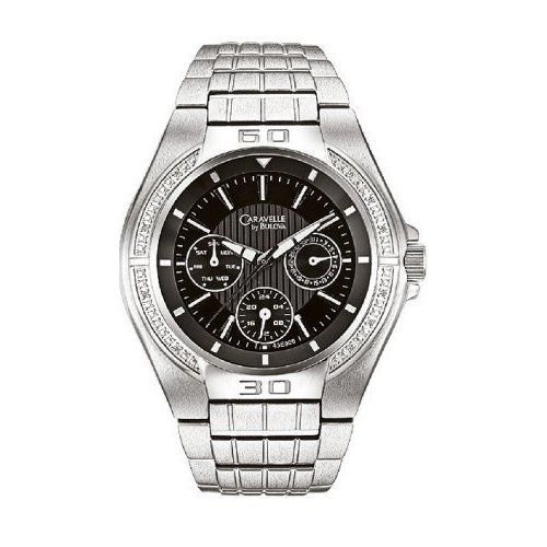 Bulova Caravelle 43E000 Diamond Men's Watch