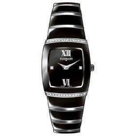 Wittnauer Bulova 12R32 Ceramic Diamond Women's Watch