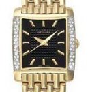 Wittnauer Bulova 12R042 Diamond Gold Women's Watch
