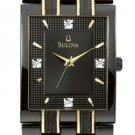 Bulova 98D004 Diamond Dress Men's Watch