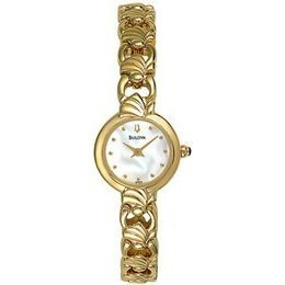 Bulova 97V29 Mother of Pearl Dial Women's Watch