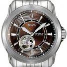 Bulova 96A101 Brown Face Bracelet Men's Watch