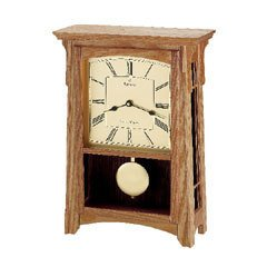 Bulova Garrett Chiming Mantel Clock B7645