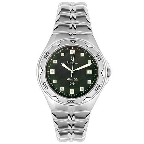 Bulova 96D09 Diamond Marine Star Men's Watch
