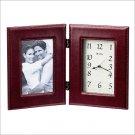 Bulova Bryant II Picture Frame Table Clock B1293
