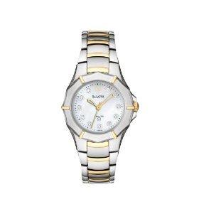 Bulova 98P110 Diamond Marine Star Women's Watch