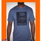 FELA FACE LAKE BLUE TEE