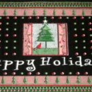 Christmas Rug Happy Holidays Door Mat