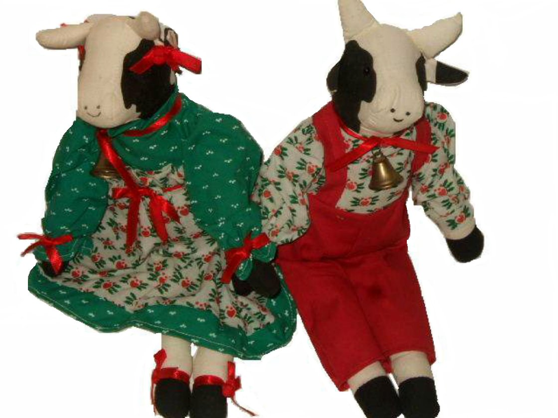 Christmas Dolls Cowgirl Cowboy Holiday Gifts