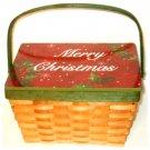 Merry Christmas Holiday Basket
