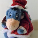 Collectible Disney Eeyore Plush Santa Claus Toy