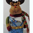 Moose Cookie Jar Canister Figurine