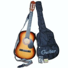 """Acoustic Guitar plus """"gigbag"""""""