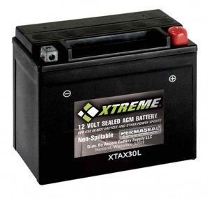 BATTERY  Xtreme AGM Permaseal XTA30L-BS