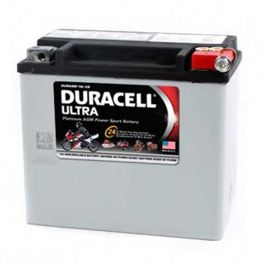 BATTERY DURAGM-20L-US DURACELL (Xtreme 2)Made in USA, Two YR WARRANTY
