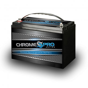 SLA12-110AH M8 Lead Calcium Sealed Battery - FREE SHIPPING