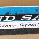 1971 Pontiac Grand Safari radiator grille emblem NOS