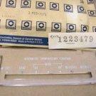 1973 1974 Bonneville Catalina heater face plate NOS