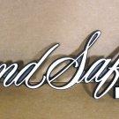 1973 74 1975 Pontiac Grand Safari tail gate emblem NOS