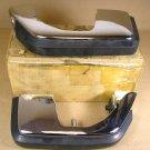 1973 Lemans Tempest NOS front bumper guard pair